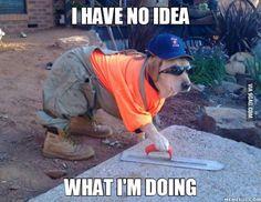 """Fixing"" stuff around the house..."