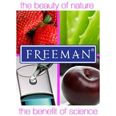 The beauty of nature.  The benefit of science. @FreemanBeauty