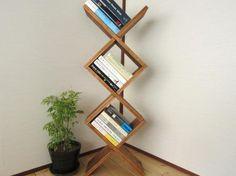 木のマガジンラック(ウォルナット)|その他家具|ハンドメイド通販・販売のCreema