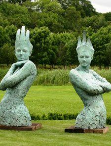 Large Bronze Sculpture - David Williams-Ellis - Bronze, Contemporary and Portrait Sculptor   David Williams Ellis
