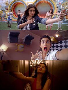 Alia Bhatt  for Gionee #SELFIESTAN Ad