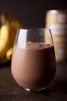 Cacao Banana Milkshake [Vegan]