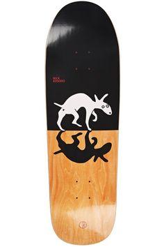 Nick Boserio Sneaking Dog Skateboard Deck by Polar