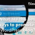 #Wordpress What Are the Best Ways to Promote a WordPress Blog?  After more than one decade of promoting various WordPress blogs and scrutinizing masses of script on the subject, I amassed some methods that work better than others. WordPress  Company - http://www.larymdesign.com http://www.business2community.com/blogging/best-ways-promote-wordpress-blog-01643425