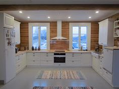 Fantastic kitchen ideas are available on our web pages. Have a look and you wont be sorry you did. Rustic Kitchen Design, Farmhouse Style Kitchen, Modern Farmhouse Kitchens, Cabin Kitchens, Luxury Kitchens, Kitchen Interior, Kitchen Decor, Kitchen Ideas, Log Home Interiors