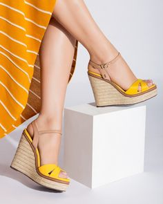 60 Summer Wedges Sandals To Look Cool - New Shoes Styles & D.- 60 Summer Wedges Sandals To Look Cool – New Shoes Styles & Design 60 Summer Wedges Sandals To Look Cool - Summer Wedges, Summer Shoes, Summer Wedge Sandals, Slide Sandals, Wedge Shoes, Sandal Wedges, Pumps, Hot Shoes, Designer Shoes