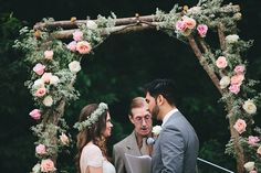 Photographer Feature: Flower-filled bohemian wedding by Alec Vanderboom