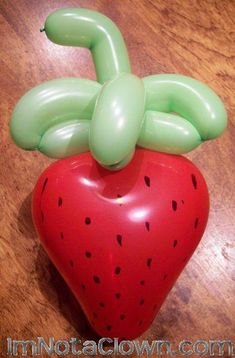 Strawberry Twist Balloon