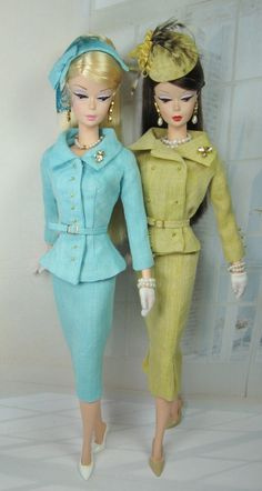 Double Suited for Silkstone Barbie and Victoire Roux