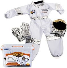 Tigerdoe Astronaut Costume For Kids - Space Costume accessories With Case - Dress Up Sets - Pretend Play (Astronaut Costume) - Buy Online in Kuwait. Kids Space Costume, Space Costumes, Astronaut Helmet, Astronaut Costume, Space Outfit, Easy Halloween Costumes, Kid Spaces, Pretend Play, Costume Accessories