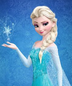 Elsa from Frozen - My favorite Disney character ever! With an amazing voice actress to go with it! <3