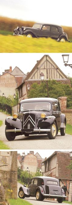 Citroën Traction Avant 11B 1952 [photos Pierre-Yves Gaulard] Retro Cars, Vintage Cars, Antique Cars, French Classic, Classic Cars, Art Deco Car, Automobile, Traction Avant, Citroen Traction