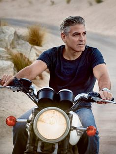 George Clooney || Omega Speedmaster '57 - Co-Axial Chronograph 41.5mm