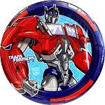 Plates: Transformers Party Paper Plates 23cm (8pk)