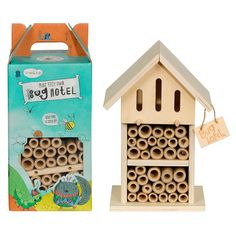 Buy Little Thoughtful Gardener Make Your Own Bug Hotel from our Decorative Garden Accessories range at John Lewis & Partners. Outdoor Toys, Outdoor Decor, Stages Of Baby Development, Bug Hotel, Make Your Own, Make It Yourself, Garden Games, Kids Gifts, Bird Houses