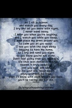 ~~ I wish you could both hold me tight Mom and Dad, I need it so much. It's so hard being alone now. You are so missed, xox ~~