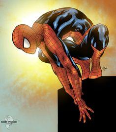 Spider-Man - Daniel Machado, Lines by Mike Deodato