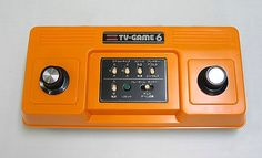 Color TV Game 6. The fist video game Nintendo made.