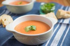 Geröstete Tomaten Suppe