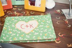 Letter confetti