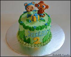 Waybuloo cake by Rockabilly Cupcakes
