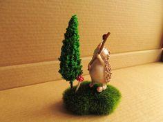 Aliexpress.com : Buy fairy garden kit/crafts/artificial red dots mushrooms tree and moss/resin animals/miniature hedgehog/terrarium kit from...