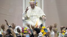 Pope Francis on Donald Trump: He is 'not Christian' http://ift.tt/1Qox2Rd  WASHINGTON  Pope Francis criticized Donald Trump on Thursday saying the GOP front-runner is not Christian for his stance on immigration.  A person who thinks only about building walls wherever they may be and not building bridges is not Christian Francis speaking Italian told a reporter on a plane back to the Vatican after a six-day trip to Mexico.  Trump has made building a wall between the United States and Mexico a…