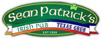 Sean Patricks Irish Pub & Texas Grub | San Marcos, TX. Great variety of beers on tap. Excellent food and lots of fun things to do- shuffleboard, darts, and pool tables.