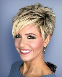 Stylish Short Haircuts, Haircuts For Fine Hair, Haircut For Thick Hair, Short Pixie Haircuts, Short Bob Hairstyles, Celebrity Hairstyles, Wedding Hairstyles, Easy Hairstyles, Hairstyles 2016