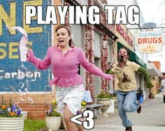 Yes, oh how I love tag!