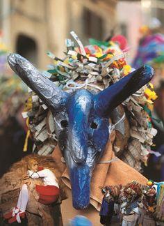 Maschera del Carnevale di Aliano