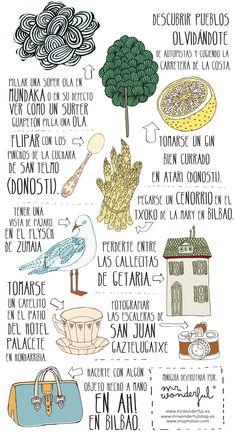 Mini(micro) guía no aburrida del País Vasco - art journal
