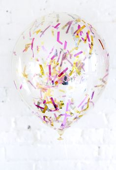 DIY Confetti Balloon Tutorial