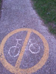 No riders