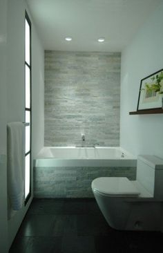 white small bathroom design