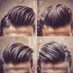 Which do you prefer 1, 2, 3, or 4 ⁉️ : @mens.hairstyles
