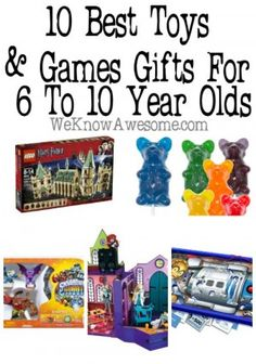10 Best Toys and Games 6-10 Year Olds