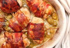 Roladki tak pyszne, że mamma mia! Z kurczaka zawijane w boczku [PRZEPIS] Polish Recipes, Mamma Mia, Shrimp, Chicken Recipes, Turkey, Food And Drink, Healthy Eating, Meat, Dinner