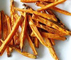 SWAP FRENCH FRIES FOR SWEET POTATO FRIES