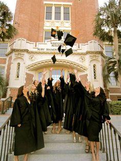 Tri Delta sisters graduating