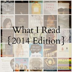 My Little Sunshines: What I Read {2014}