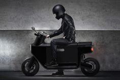 The scooter gets its first radical redesign in nearly a 100 years with an expanded storage chamber | Yanko Design Scooter Design, Bike Design, E Scooter, Android Auto, Motorcycle Design, Electric Scooter, Transportation Design, How To Slim Down, Storage Spaces