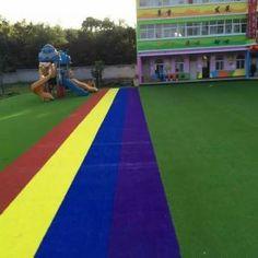 Good quality artificial grass artificial turf for kidergarten
