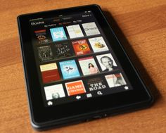 Kindle Fire - Christmas Gift Ideas for Parents