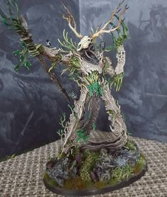 Warhammer Age of Sigmar | Sylvaneth | Treelord Ancient Conversion by Vikingpainting #warhammer #ageofsigmar #aos #sigmar #wh #whfb #gw #gamesworkshop #wellofeternity #miniatures #wargaming #hobby #fantasy