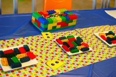 More from the duplo party. So many great DIY ideas!