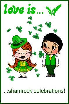 Happy St. Patrick's Day Love is... Kim Casali
