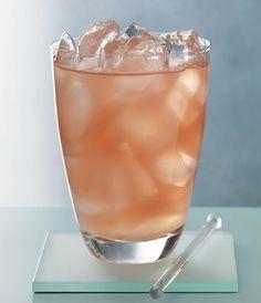 GREY GOOSE SIGNATURE SOUND:  2 parts GREY GOOSE® Vodka, 1 part elderflower liqueur,  1 part pink grapefruit juice and a squeeze of lime.