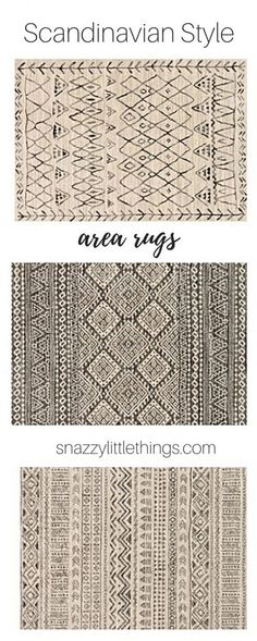 Nothing Updates a Room Like a Rug (+ a $100 giveaway!) | snazzy little things