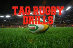 Tag Rugby Drills are great to practice for improving running skills, hand eye coordination and busts of energy when sprinting to tag your competition making the tackle. http://www.rugbydrills.net/tag-rugby-drills/   here is a list of ways you can play tag rugby, we have compiled a list for you to take with you onto the field and put into practice. #tag #drills #sport